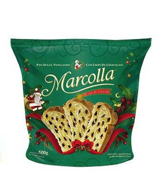 MARCOLLA pan dulce c/chips x500g