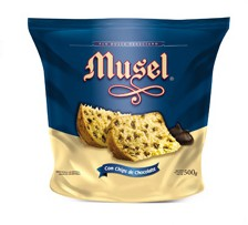 MUSEL pan dulce c/chips x500grs